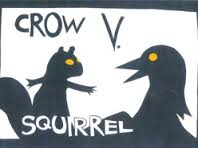 crow vs squirrell